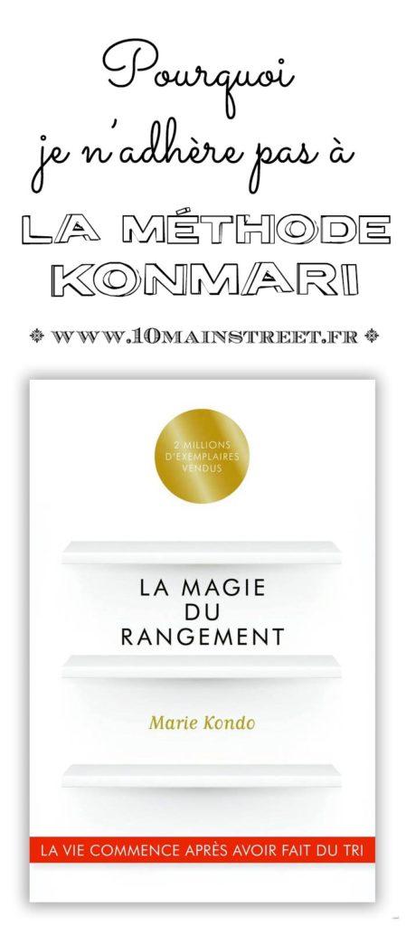 La méthode KonMari : pourquoi je n'adhère pas ? #organisation #rangement