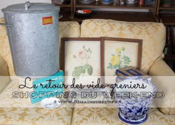 Shopping du week-end : le retour des vide-greniers
