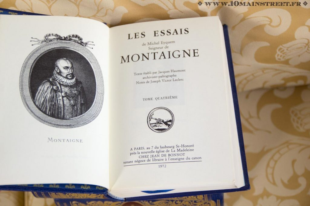 Les Essais de Montaigne chez Jean de Bonnot