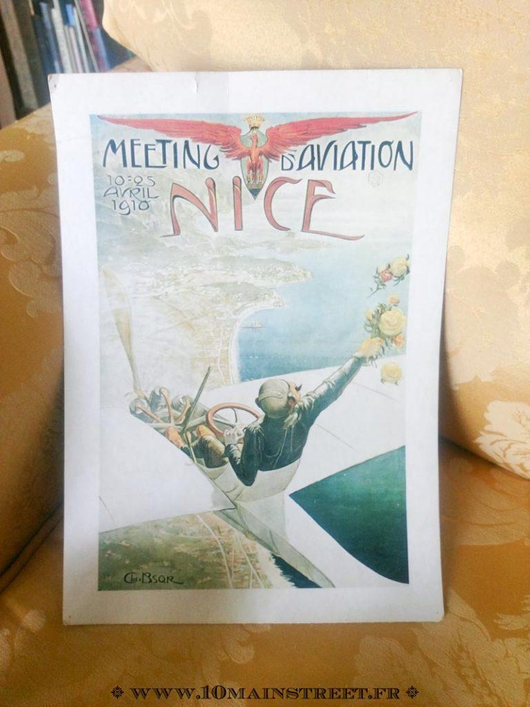 Impression vintage sur Nice
