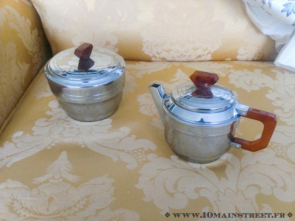 Ensemble à thé art-déco