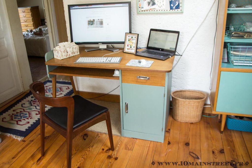 Nouveau bureau relooké et installé