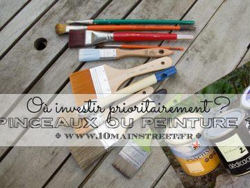 Pinceaux ou peinture, où investir prioritairement ?