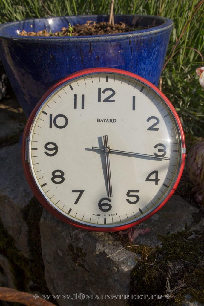 Pendule vintage Bayard