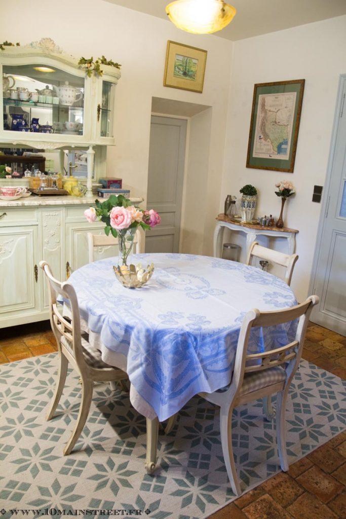 Chaises de salle à manger relookées