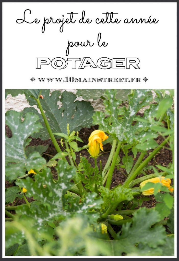 Le projet de cette année pour le potager | #garden #gardening #gardeningtip #jardin #jardinage #ediblegarden