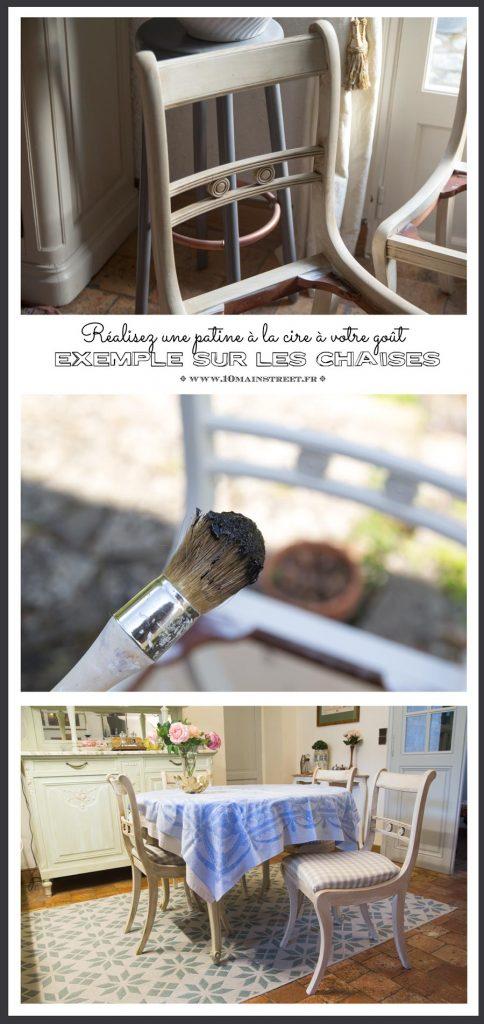 Réalisez une patine à la cire à votre goût : l'exemple des chaises en merisier #furnituremakeover #furnitureflip #chairmakeover #frenchfurniture
