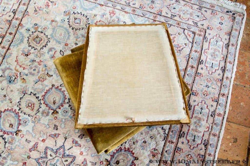 Retirer les couches successives de tapisserie
