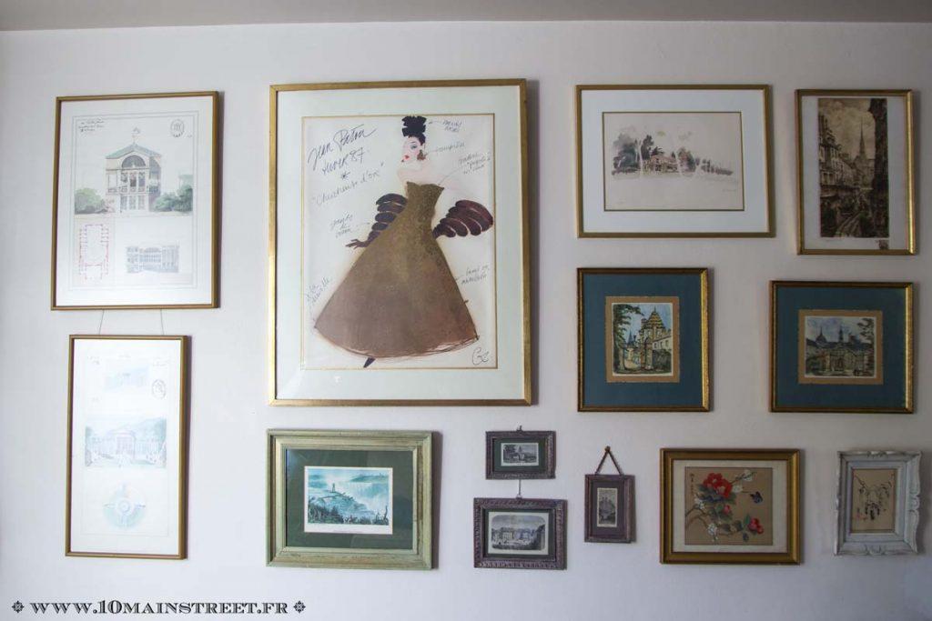 La galerie du salon