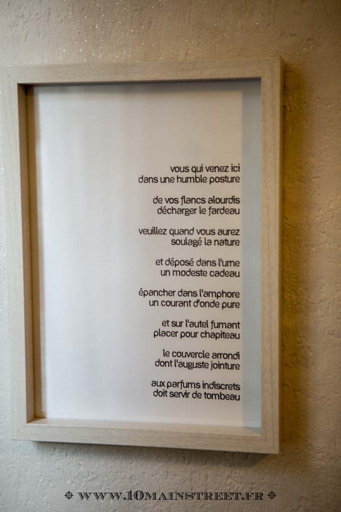 Alfred de Musset & les toilettes