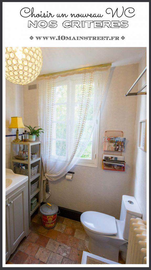 Choisir un nouveau WC : nos critères | salle de bain, toilettes, #bathroom #renovation #toilet