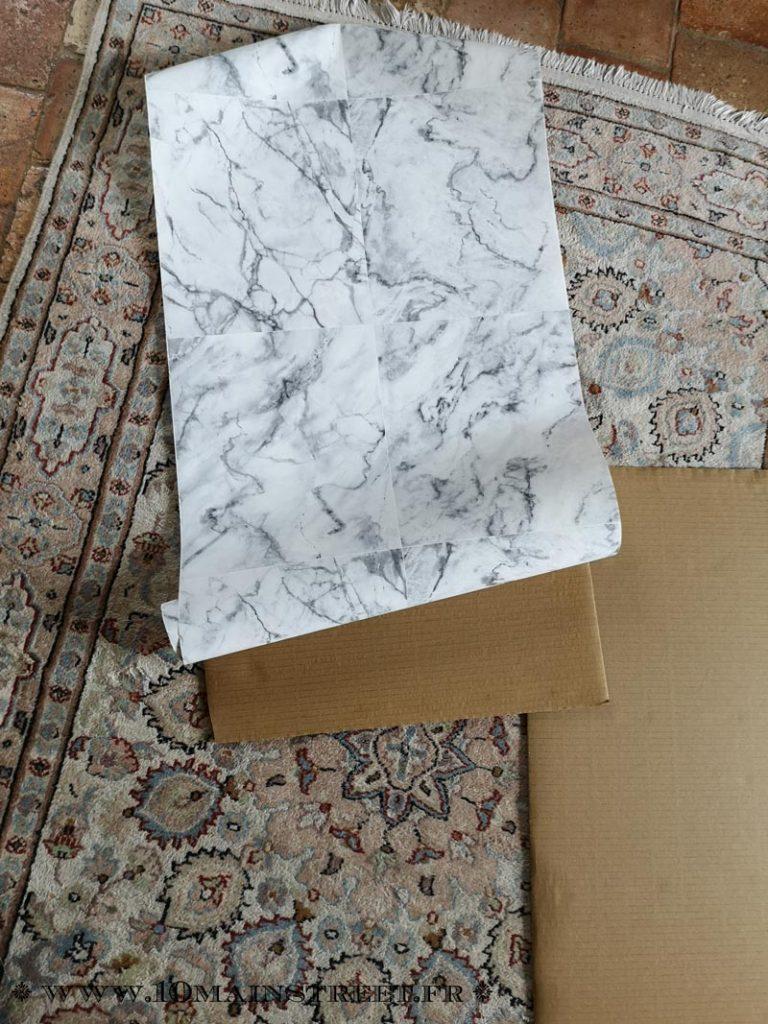 Découpe du papier peint