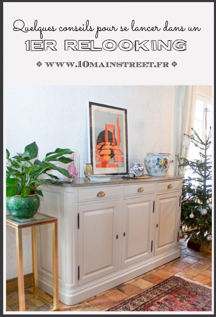 Quelques conseils pour se lancer dans un premier relooking de meuble | #upcycling #meublepeint