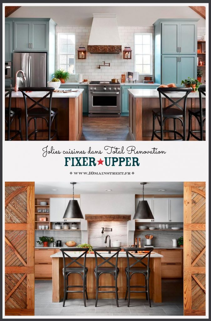 Jolies cuisines dans Total Renovation - Fixer Upper | #kitchen #fixerupper #totalrenovation