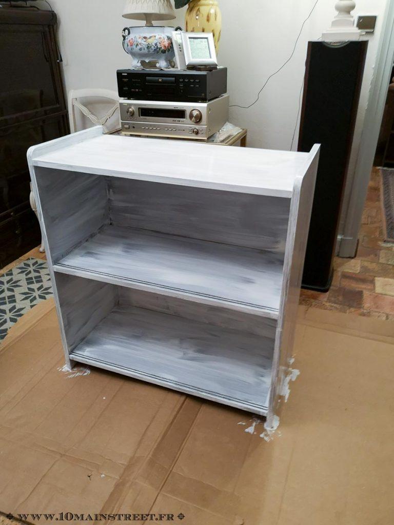 Bibliothèque en placage recouverte de sous-couche pour matériaux lisses ID Paris
