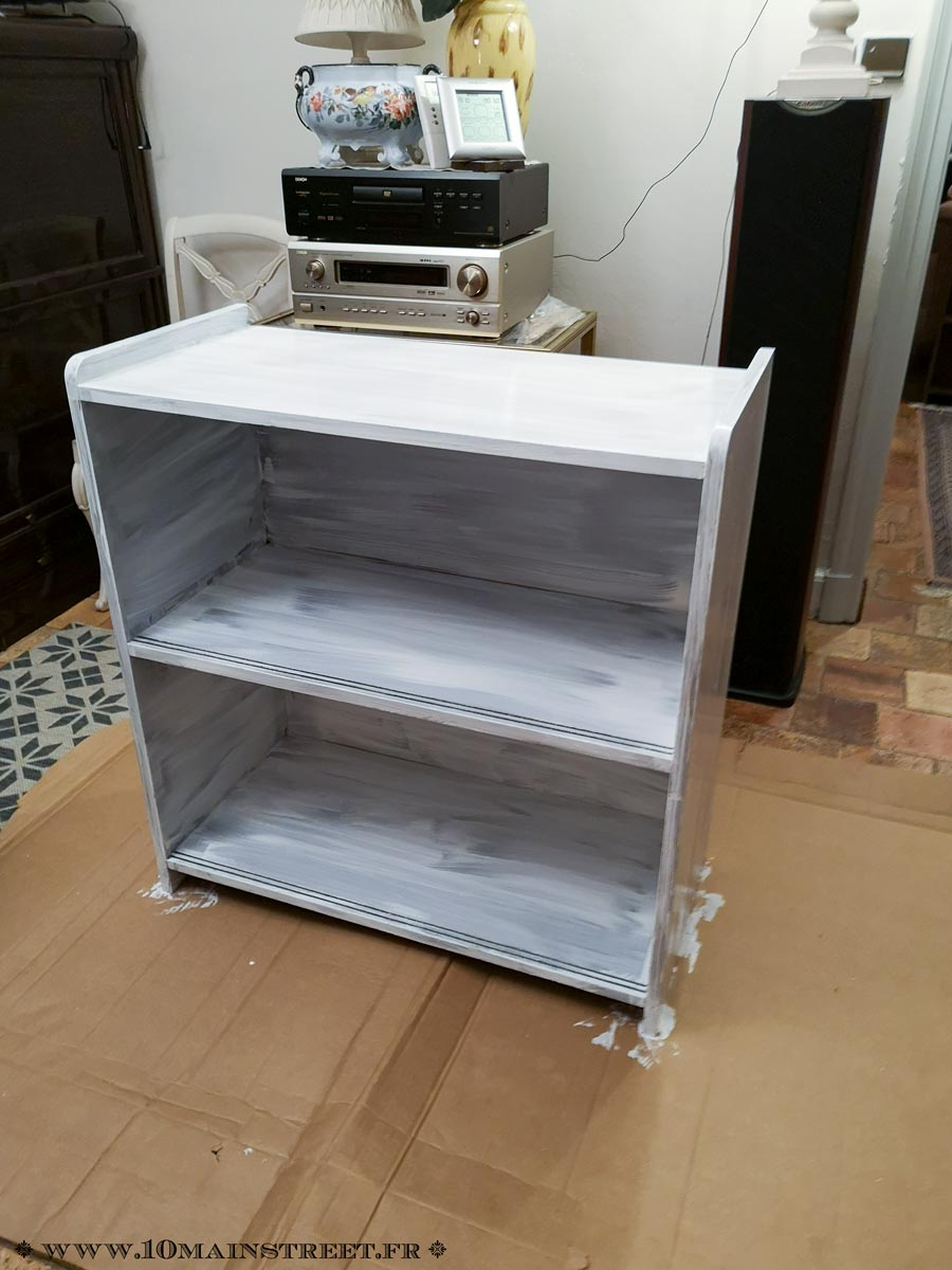 peindre une biblioth que en placage ikea ou autre 10 main street. Black Bedroom Furniture Sets. Home Design Ideas