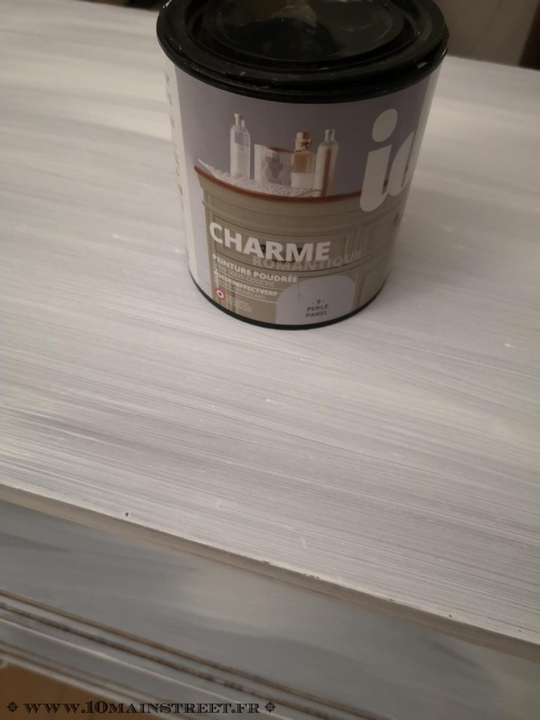 Peinture Charme de ID Paris en couleur Perle