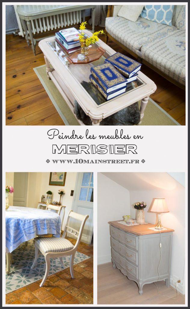 Peindre les meubles en merisier et éviter es remontées tanniques | #tanin #relookingmeuble #patine #bois