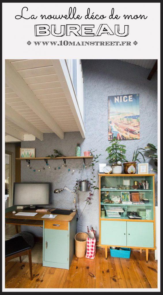 La nouvelle déco de mon bureau | #homeoffice #christmas #PosterLounge #midcentury #midcenturymodern #mod #artdeco #noel #vintage