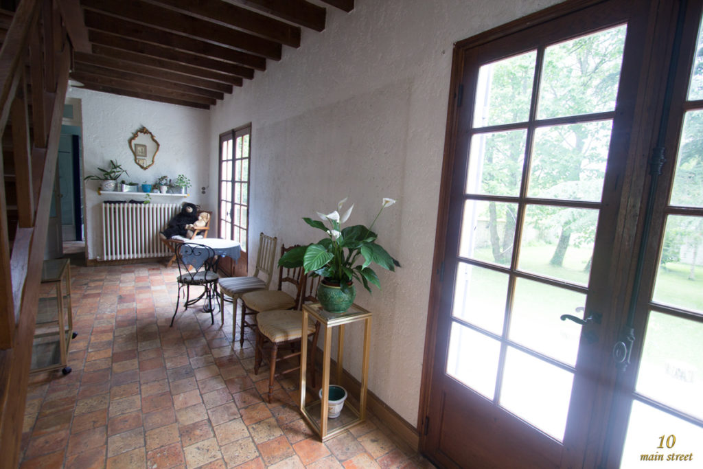 Les portes-fenêtres à l'origine