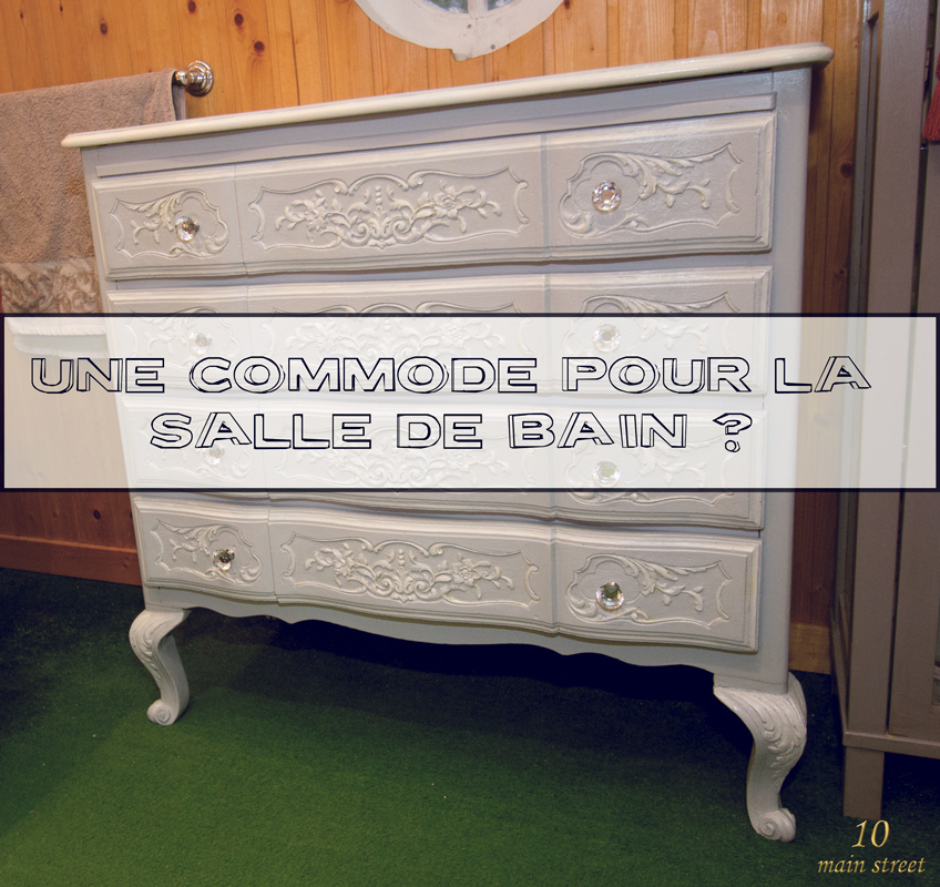 Commode archives 10 main street for Commode salle de bain