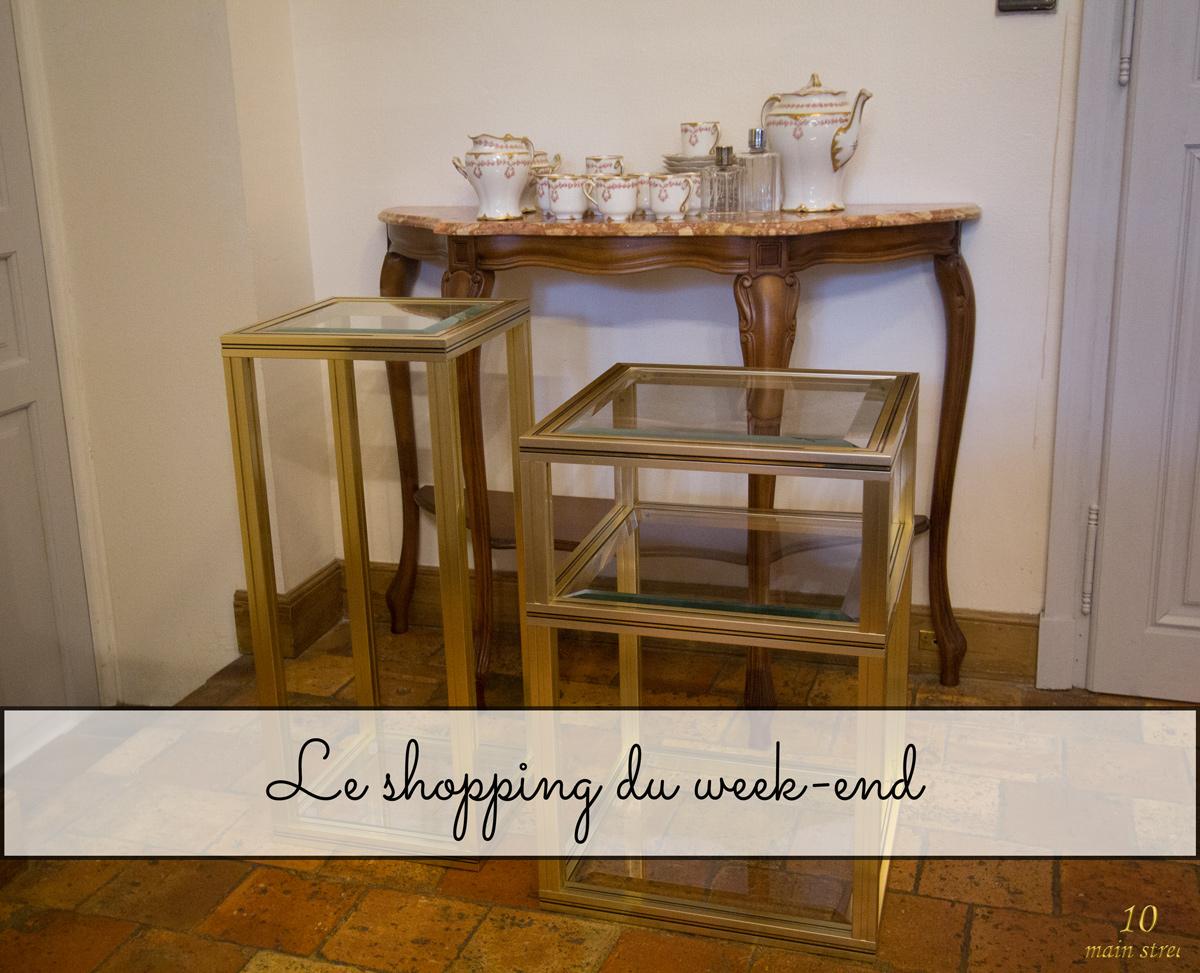 Shopping du week-end