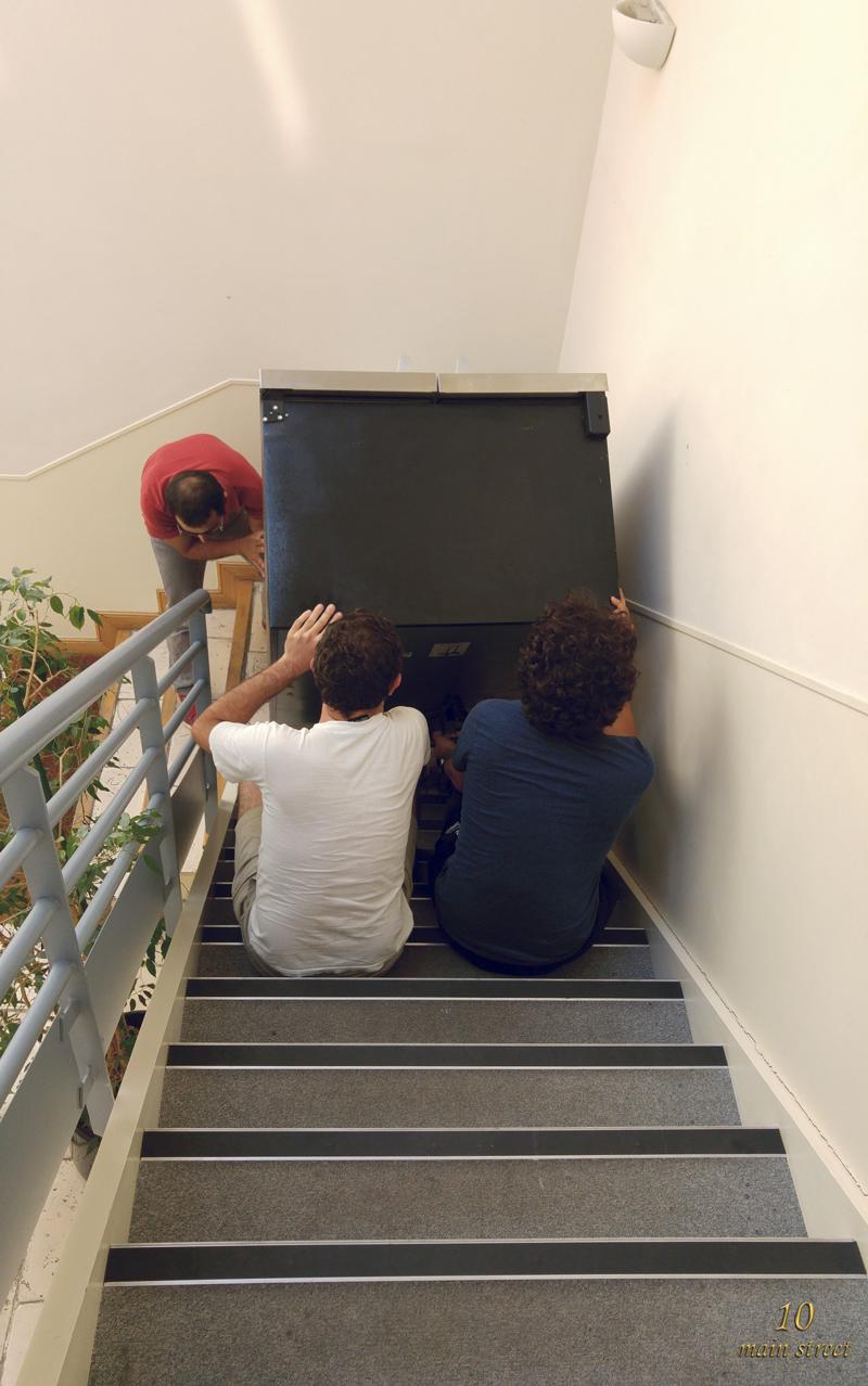Les aventures du nouveau frigo investissement dans un - Transporter un frigo couche ...