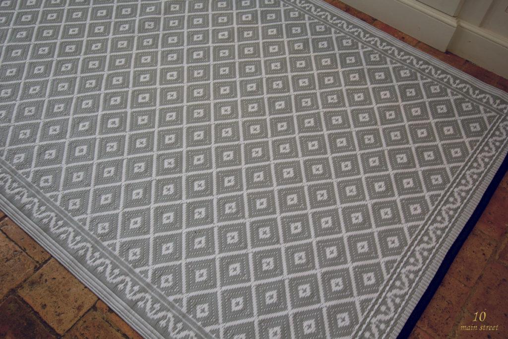 un tapis pour la cuisine en polypropyl ne indoor outdoor. Black Bedroom Furniture Sets. Home Design Ideas