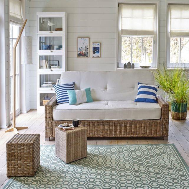 un tapis pour la cuisine en polypropylène indoor-outdoor