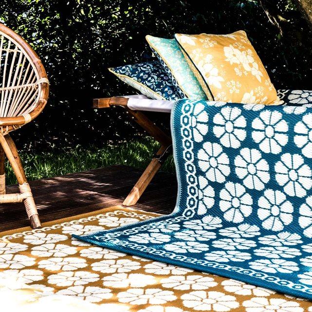 Un tapis pour la cuisine en polypropyl ne indoor outdoor - Nettoyer un tapis avec de l ammoniaque ...