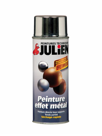 Solution-Julien-Peinture-Aerosol-Effet-Metal-Argent-400-Ml - 10