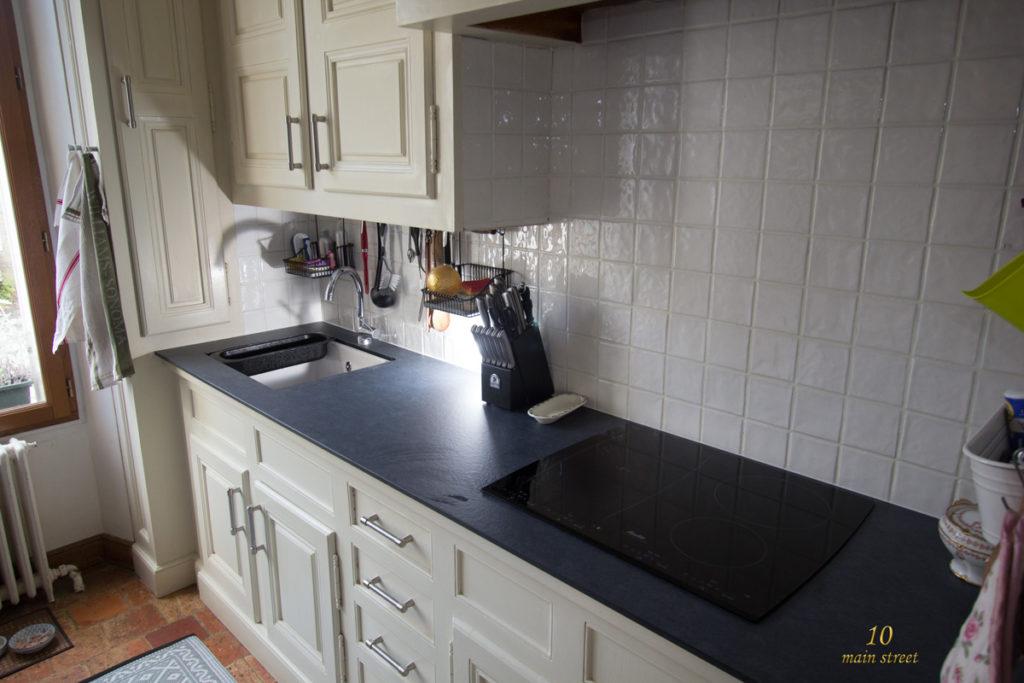 r novation de la cuisine peindre les joints de carrelage rouge. Black Bedroom Furniture Sets. Home Design Ideas