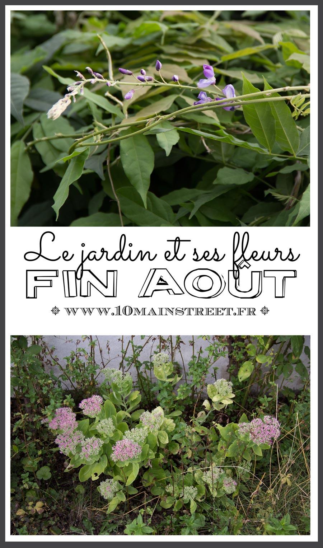 Quelles Fleurs Planter Fin Aout le jardin et toutes ses fleurs à la fin du mois d'août