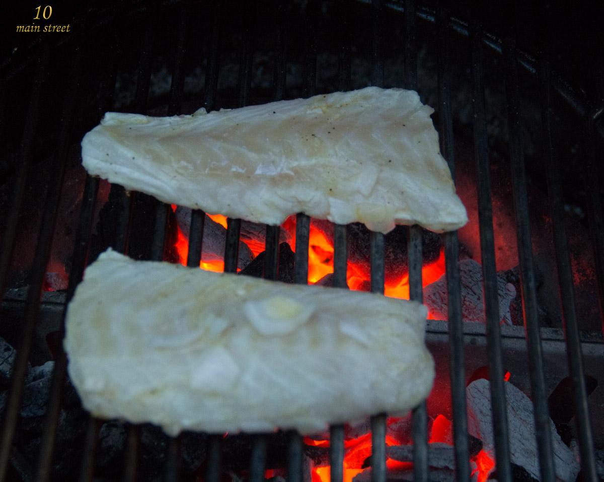 Dos de Cabillaud au barbecue | | Chut Je cuisine