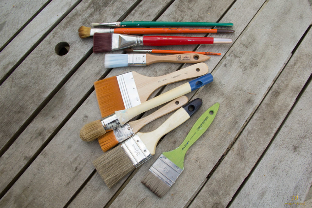 Idées cadeaux pour bricoleur amateur : les pinceaux !
