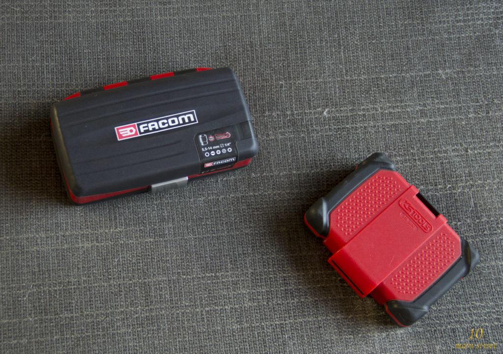 Petites boîtes Facom et KS Tools