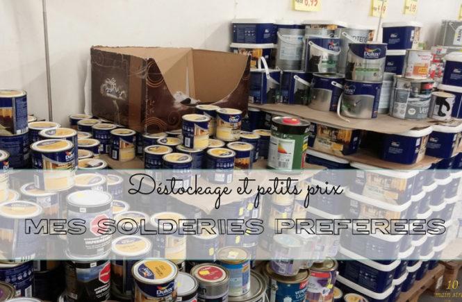 Destockage et petits prix : mes solderies préférées