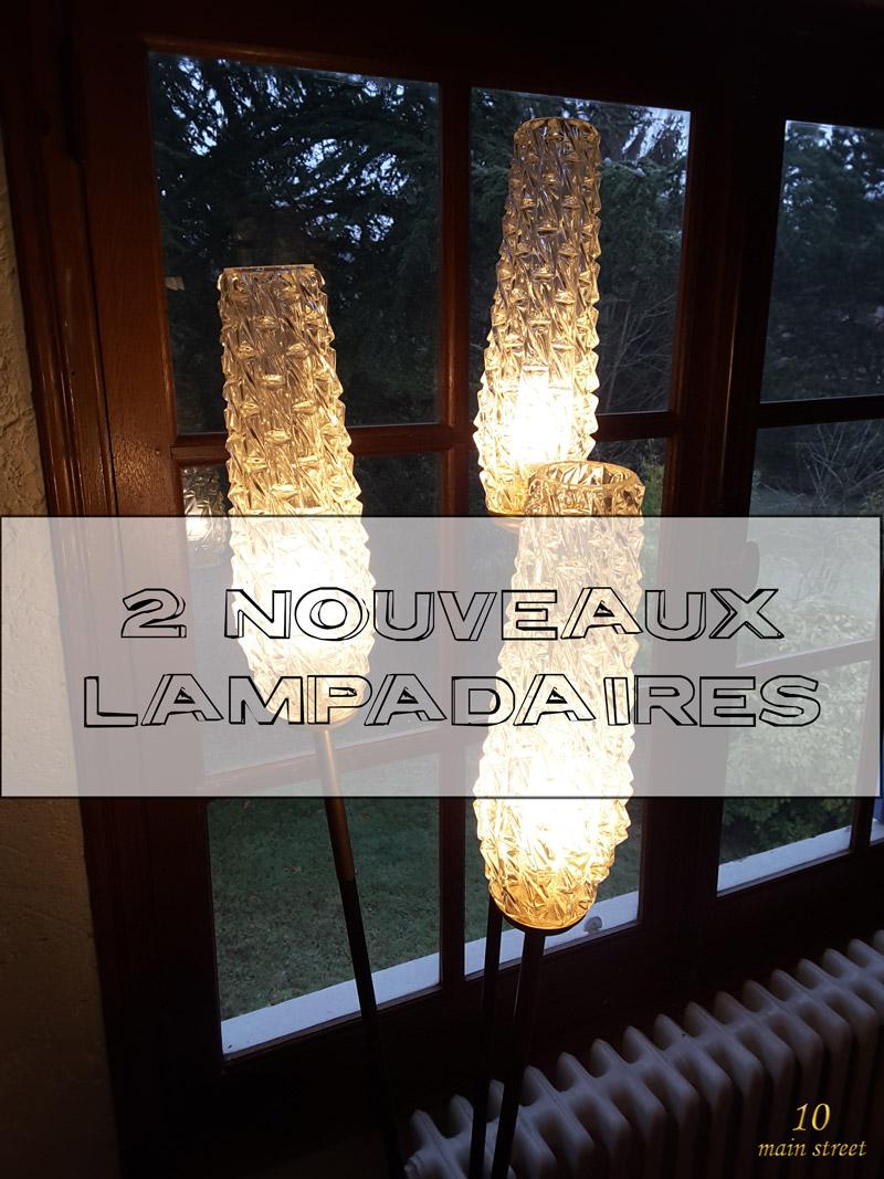 Deux nouveaux lampadaires