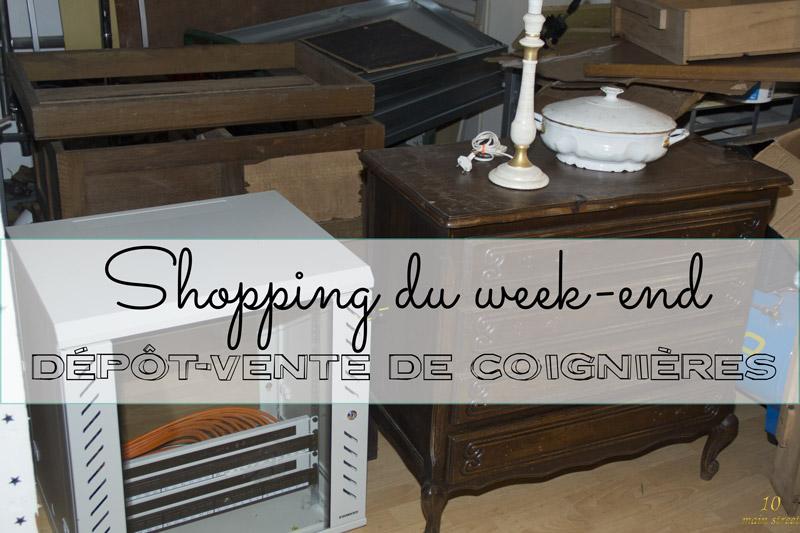 Shopping du week-end : le dépôt-vente de Coignières