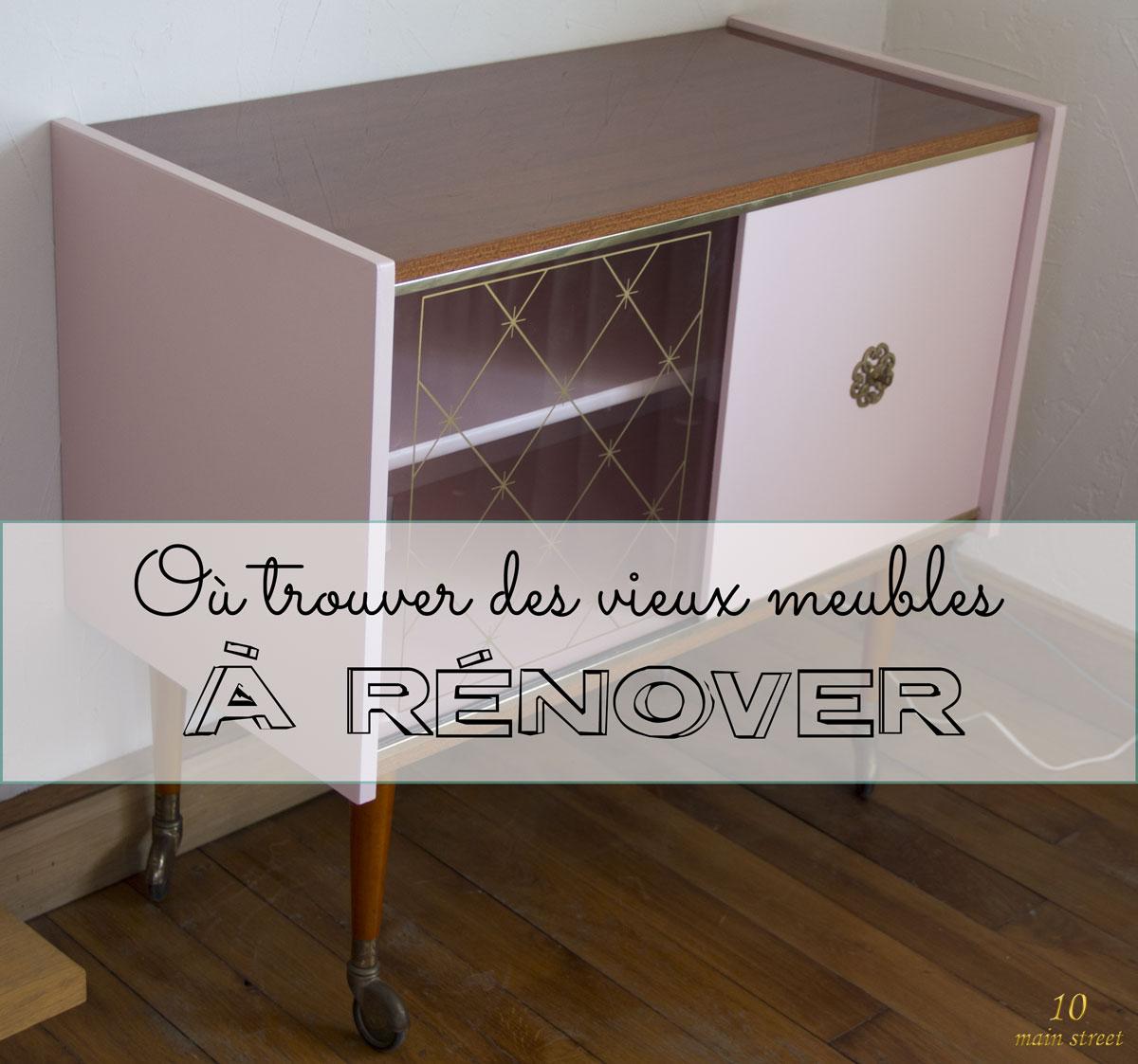 o trouver des vieux meubles r nover pour en faire des tr sors. Black Bedroom Furniture Sets. Home Design Ideas