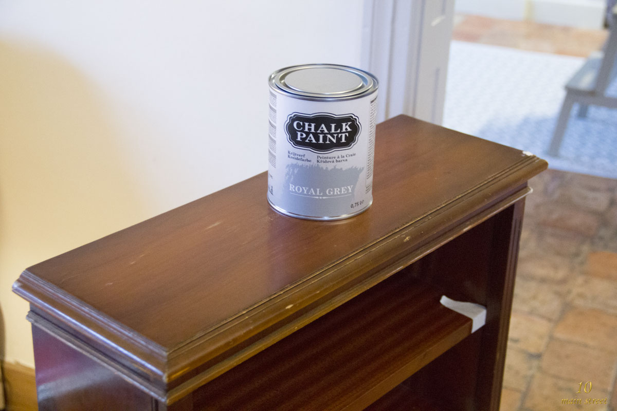 j 39 ai test la chalk paint action sur support verni moderne. Black Bedroom Furniture Sets. Home Design Ideas