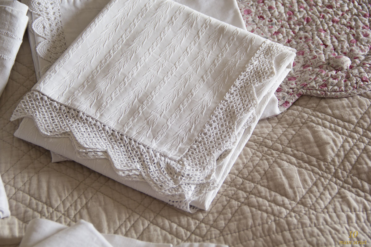 Solde linge de maison du linge de lit en lin rose ple for 3 suisses linge de maison soldes