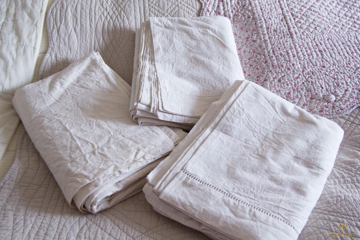 Entre ancien et moderne savoir choisir du linge de lit for Fabriquer un drap housse