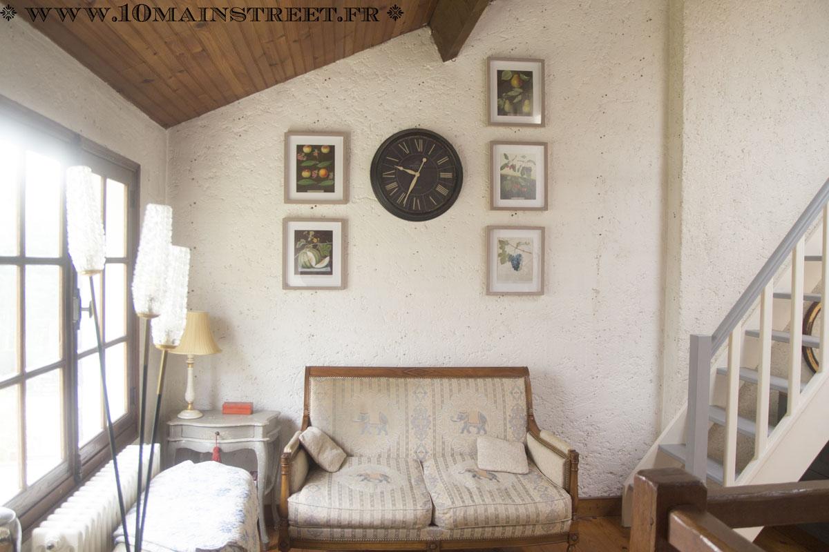 d coration murale avec des cadres action et des illustrations botaniques. Black Bedroom Furniture Sets. Home Design Ideas