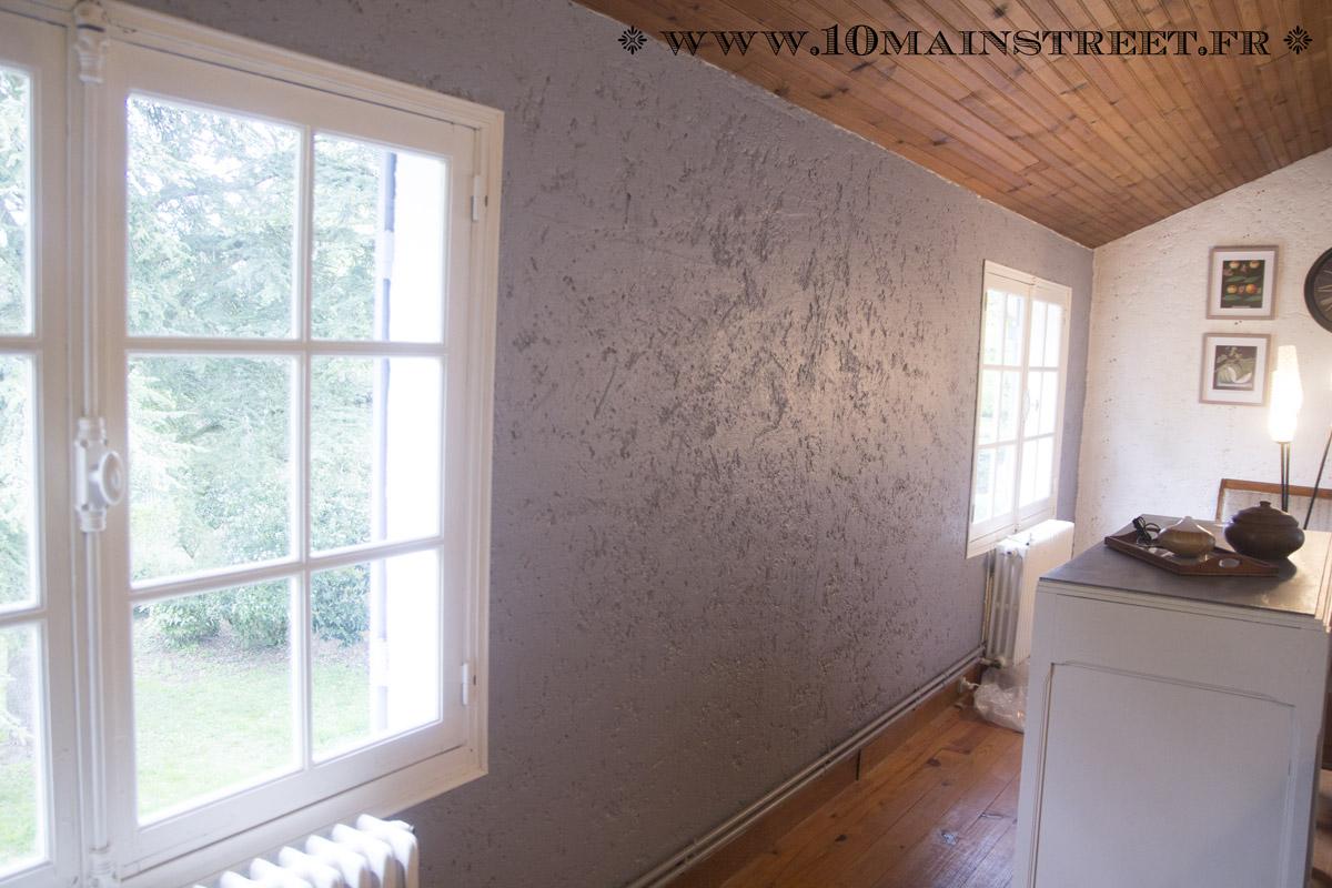 Peindre un mur cr pi l 39 int rieur de votre maison facilement for Platrer un mur interieur