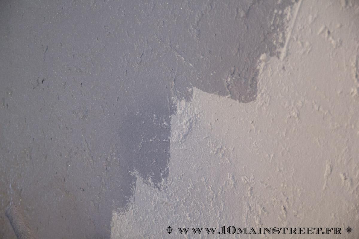 Peindre un mur cr pi l 39 int rieur de votre maison facilement - Peindre sur du crepi interieur ...