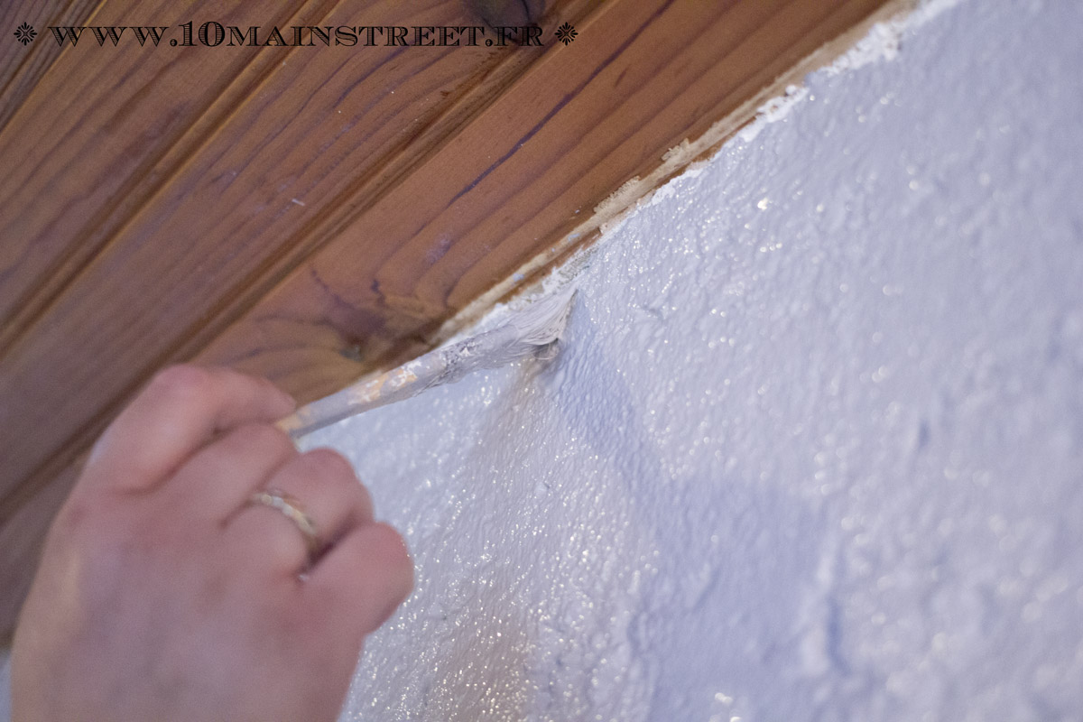Peindre Un Mur Crépi à L Intérieur De Votre Maison Facilement
