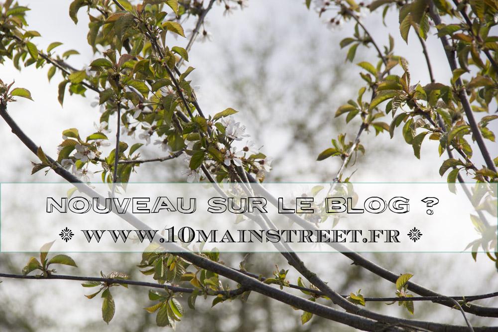 Création d'une page Nouveau sur le blog 10 Main Street ?