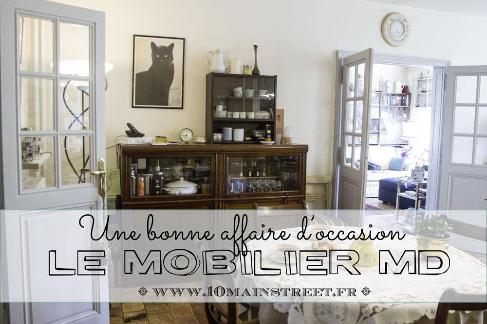 Le mobilier MD, une bonne affaire d'occasion