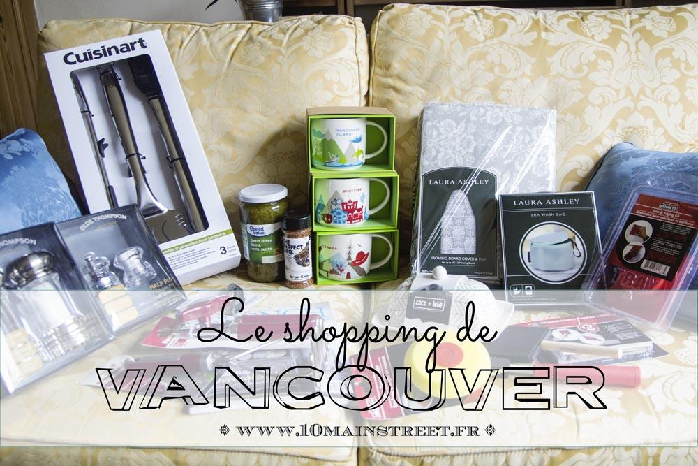 Shopping de Vancouver